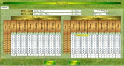 New Golf Round Screen of Chart My Golf